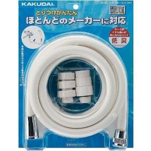 カクダイ 浴室用品 シャワーホース (2.0m) (クリーム) 3676C|rehomestore