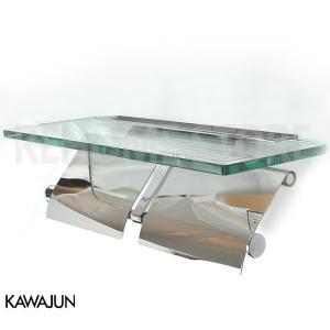KAWAJUN カワジュン ペーパーホルダー(紙巻器) ガラス棚付ダブルペーパーホルダー SC-27M-XC|rehomestore