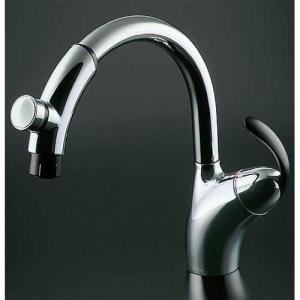 TOTO キッチン蛇口 TKN34PBTNZ タッチスイッチ水栓 シングルレバー混合栓 ハンドシャワー 寒冷地|rehomestore