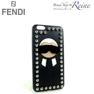 フェンディ(FENDI) カール ラガーフェルド iPhone7 Plus スマホケース 7AR440 中古|reine-web