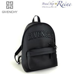 ジバンシィ(GIVENCHY) GIVENCHY ロゴ PVC ラバー バックパック リュック 美品 【中古】|reine-web