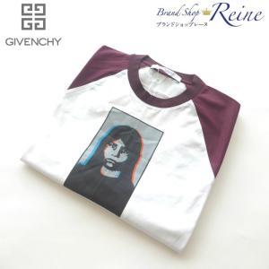 ジバンシィ(GIVENCHY) プリントラグラン Tシャツ オーバーサイズ ロング XXS 新品|reine-web