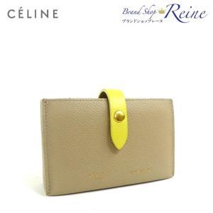 b8e15985551c セリーヌ(CELINE) アコーディオン カードホルダー 名刺入れ カードケース 10432 旧ロゴ フィービーファイロ 中古