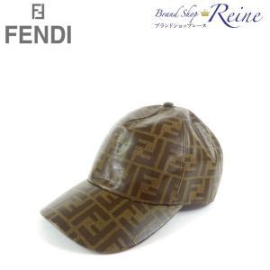 フェンディ(FENDI) FFロゴ ズッカ ベースボール キャップ 帽子 新品|reine-web