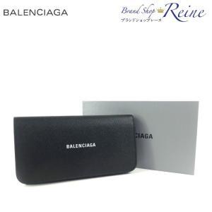 バレンシアガ(BALENCIAGA) VILLE コンチネンタル フラップ ロゴ 二つ折り 長財布 594289 新品|reine-web