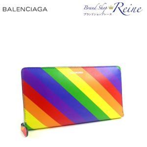 バレンシアガ(BALENCIAGA) VILLE コンチネンタル ジップ ロゴ ラウンドファスナー 長財布 565991 新品|reine-web