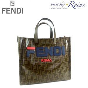 フェンディ(FENDI) FFロゴ ショッピング トート バッグ 8BH357 FILAコラボ 新品|reine-web