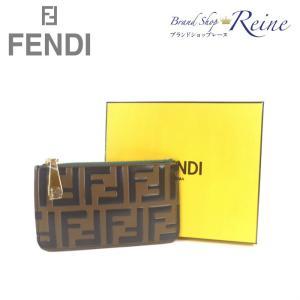 フェンディ(FENDI) FFロゴ ズッカ コインケース カードケース 小銭入れ 8AP151 新品|reine-web