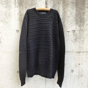ジバンシィ(GIVENCHY) クルーネック ニット セーター ブラック Mサイズ 13S7604551 美品 【中古】|reine-web