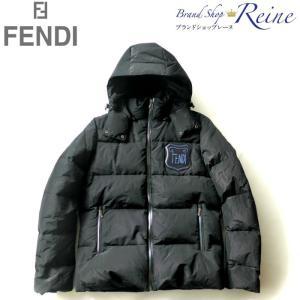 フェンディ(FENDI) FF ロゴ パッチ ダウンジャケット FAA672 #50 新品|reine-web