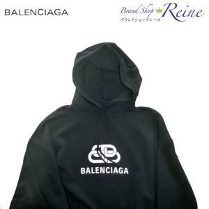 バレンシアガ(BALENCIAGA) BB ロゴ プリント フーディー パーカー 570792 Sサイズ 新品|reine-web