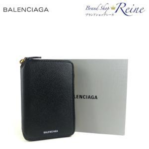 バレンシアガ(BALENCIAGA) VILLE ジップ ロゴ ラウンドファスナー 財布 581168 新品|reine-web