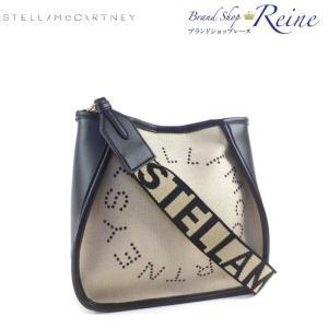 ステラマッカートニー(STELLA McCARTNEY) キャンバス ロゴ ショルダー バッグ 557906 サンド 新品|reine-web