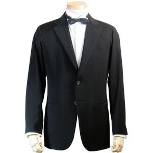 社交ダンス ジャケット シングル 2ボタン メンズ 濃染 黒 ブラック ダンス 衣装 上着 平服 日本製 6700|reisouclub