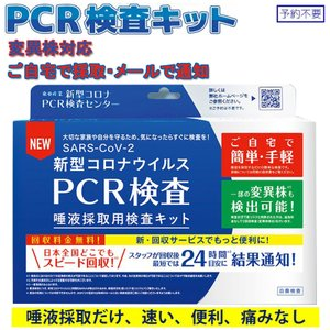 タイムセール!PCR検査キット コロナウイルス検査キット PCR検査 自宅で検査 セルフ検査 新型コロナ 唾液採取用 東亜産業予約不要 痛みなし 早い TOAMITの画像