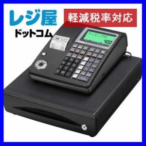 レジスター カシオ 本体 TE-400-BK/ブラック PC設定ツールを利用して簡単メニュー設定 10部門 SDカード対応 軽減税率対策補助金対象レジ rejiya