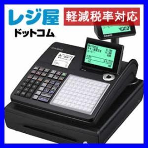 レジスター カシオ 本体 TK-400-BK/ブラック PC設定ツールを利用して簡単メニュー設定 SDカード対応 軽減税率対策補助金対象レジ|rejiya