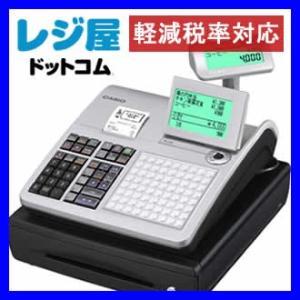 レジスター カシオ 本体 TK-400-SR/シルバー PC設定ツールを利用して簡単メニュー設定 SDカード対応 軽減税率対策補助金対象レジ|rejiya