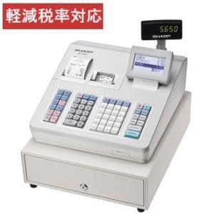 レジスター シャープ 本体 XE-A407-W/ホワイト 2シートタイプ 売上データをSDカードに保存できます 20部門 軽減税率対策補助金対象レジ|rejiya
