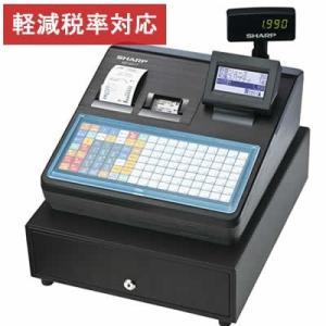 レジスター シャープ 本体 XE-A417-B/ブラック 2シートタイプ テーブル毎のオーダー登録や追加登録、仮締めが可能 軽減税率対策補助金対象レジ|rejiya