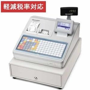 レジスター シャープ 本体 XE-A417-W/ホワイト 2シートタイプ テーブル毎のオーダー登録や追加登録、仮締めが可能 軽減税率対策補助金対象レジ rejiya