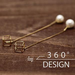 360°design 18K YGピアス(TKD-03) (ゴールドフィルド/日本生産/by boe/バイボー好きな方にもオススメ)|relaaax
