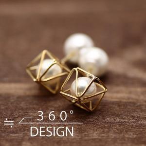 360°design 18K YGピアス(TKD-06) (ゴールドフィルド/日本生産/by boe/バイボー好きな方にもオススメ)|relaaax