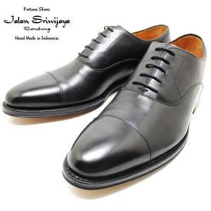 JALAN SRIWIJAYA ジャランスリウァヤ 98317 内羽ストレートチップ レザーソール BLACK ビジネス/ドレス/紐靴/革靴/メンズ relaaax