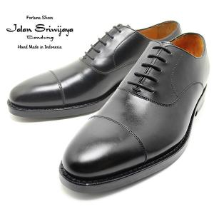 JALAN SRIWIJAYA ジャランスリウァヤ 98321 内羽ストレートチップ ダイナイトソール BLACK ビジネス/ドレス/紐靴/革靴/メンズ relaaax