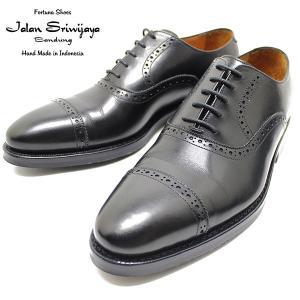 JALAN SRIWIJAYA ジャランスリウァヤ 98409 クオーターブローグ  ダイナイトソール BLACK ビジネス/ドレス/紐靴/革靴/メンズ relaaax
