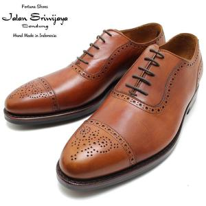 JALAN SRIWIJAYA ジャランスリウァヤ 98441 セミブローグ  ダイナイトソール MARRON ビジネス/ドレス/紐靴/革靴/メンズ relaaax