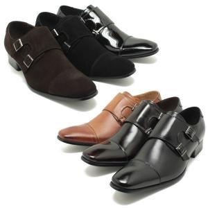 SARABANDE サラバンド ロングノーズ ダブルモンクストラップ ビジネスシューズ ブラックレザー (日本製 本革 革靴 ドレス メンズ)|relaaax|04