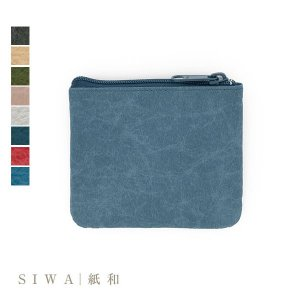 SIWA|紙和 Coin case コインケース (Made in Japan(Yamanashi)...