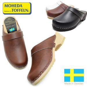 SWEDISH CLOGS スウェディッシュクロッグス ALFRED ウッドサンダル レザー スウェーデン製 サボ サンダル  MOHEDA|relaaax