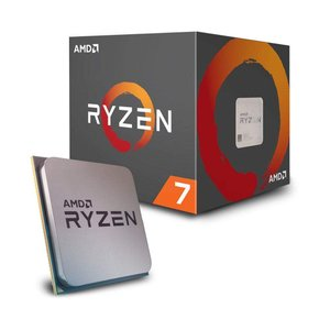 cpu AMD Ryzen 7 2700 with Wraith Spire (LED) coole...