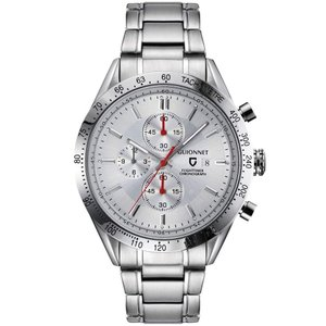 ギオネ 腕時計 フライトタイマー タキメータークロノグラフ FC42SSV