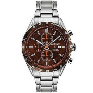 ギオネ 腕時計 フライトタイマー タキメータークロノグラフ FC42SBR