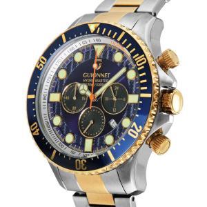 ギオネ 腕時計 ハイドロマスター プロダイバー クロノグラフ HM44SYBU