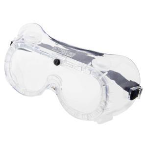 PROMATE 防じんメガネ 弁付透明 PBM-1CB