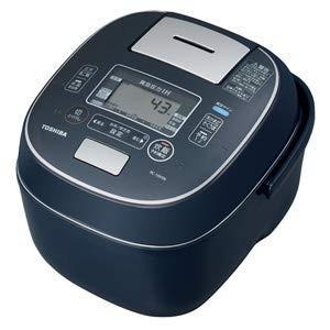 TOSHIBA 真空圧力IHジャー炊飯器 合わせ炊き (5.5合炊き) RC-10VSN-L|relawer