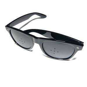 ピンホール メガネ 視力回復トレーニング 眼筋 運動 遠近 疲労予防 近視 老眼 兼用 疲れ目 リフ...