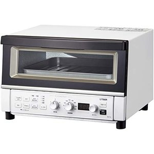 タイガー オーブントースター 温度調節機能 30分タイマー フライあたため トースト3枚 1300W マッドホワイト KAT-A130|relawer
