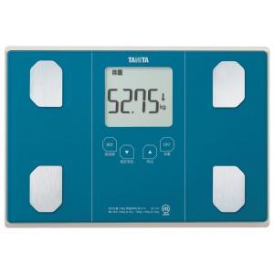 タニタ 体重 体組成計 50g ブルー BC-314 BL 自動認識機能付き/立掛け収納OK