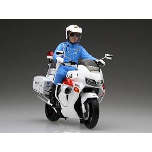 フジミ模型 1/12 バイクシリーズ Honda VFR800P 白バイ プラモデル Bike-4