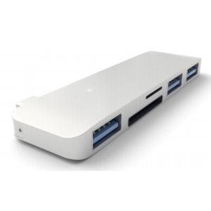 Satechi マルチ USB ハブ Type-C Macbook 12インチ対応 USB3.0 3...