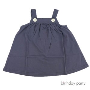 67c8e6af595d3 birthday party(バースデーパーティー) ベア天竺ボタンジャンパースカート(70)