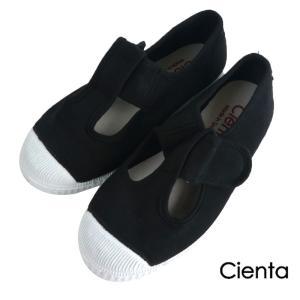 a5ddba00e362b CIENTA(シエンタ)Tストラップシューズ DYED (15-21) 靴