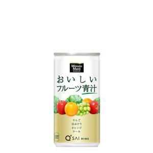 名称:ミニッツメイドおいしいフルーツ青汁 190g缶 原材料名:果実(ぶどう、りんご、オレンジ)、難...