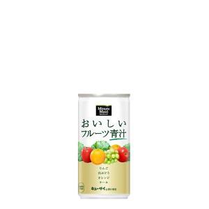 名称:【2ケースセット】ミニッツメイドおいしいフルーツ青汁 190g缶 原材料名:果実(ぶどう、りん...