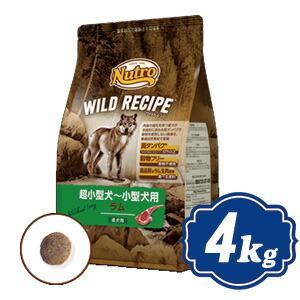 ニュートロ ワイルドレシピ 超小型犬〜小型犬用 成犬用 ラム 4kg 穀物フリー ワイルド レシピ ...